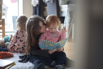 documentary family photography Bournemouth sisters portrait siblings